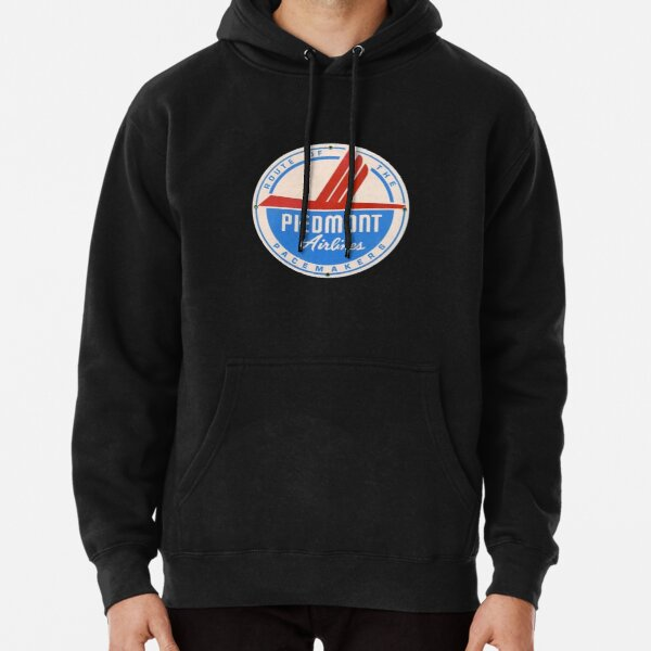 Piedmont Airlines Luggage Label Pullover Hoodie