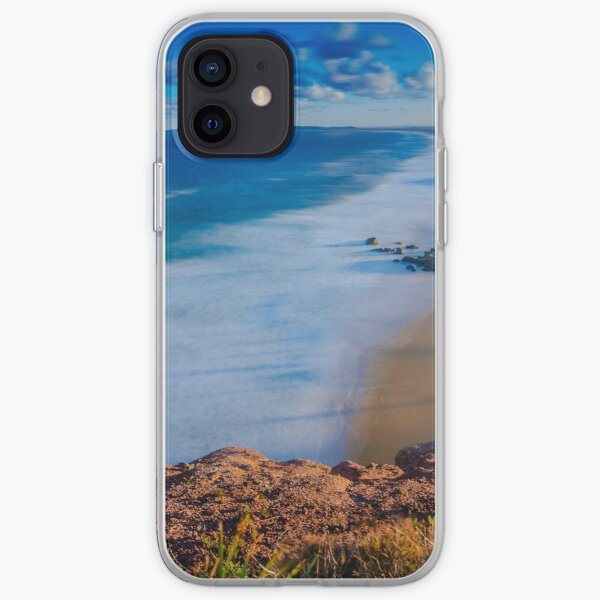 Redhead Beach from the Bluff iPhone Soft Case