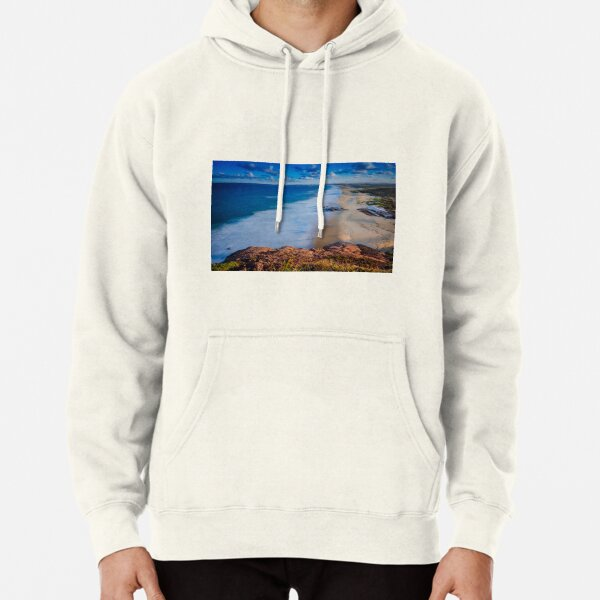 Redhead Beach from the Bluff Pullover Hoodie