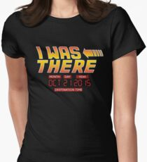 Back to the Future Day - I Was there Women's Fitted T-Shirt