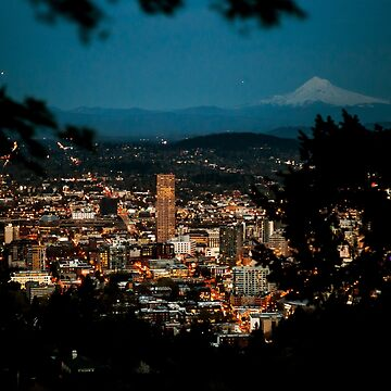 PDX Skyline by cmariephoto