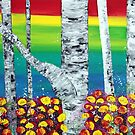 Rainbow Forest by Laura Barbosa