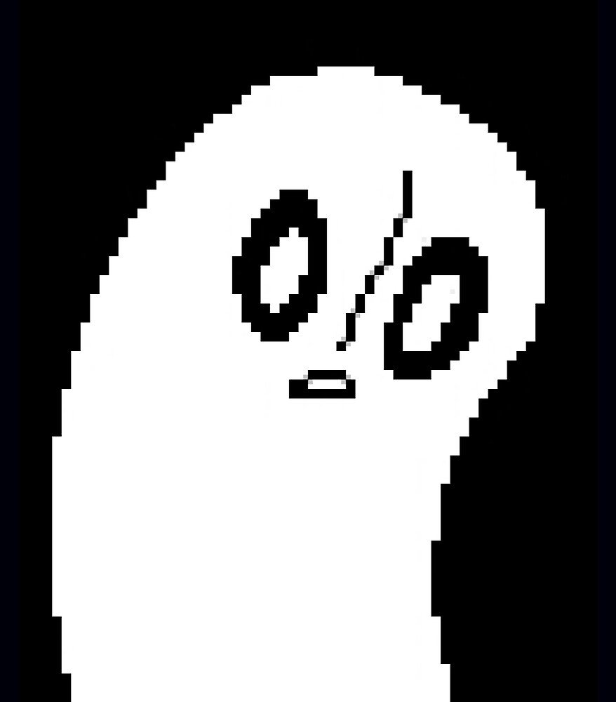 """""""UNDERTALE Napstablook"""" by discordantly 