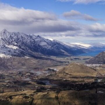 View from Coronet Peak by nroulston