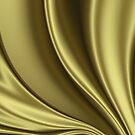 Abstract Fractal Colorways 02 Simple Gold by charmarose