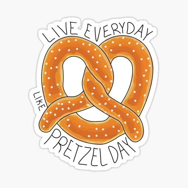 The Office: Pretzel Day Sticker