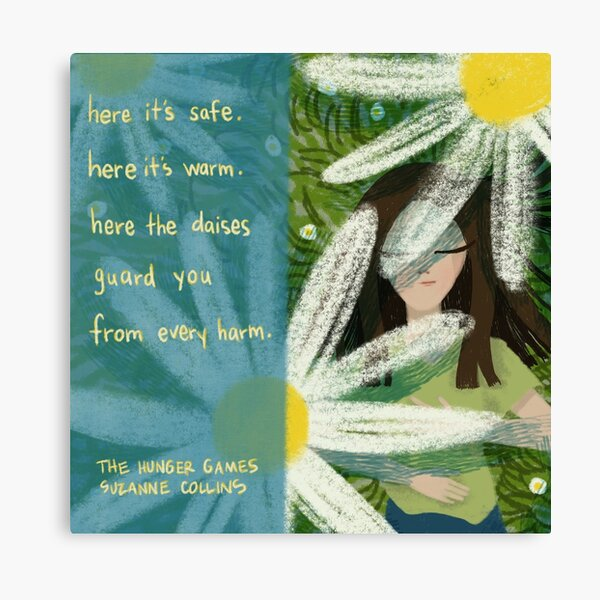 Here It's Safe Canvas Print