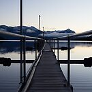 Jetty outside Queenstown by Nigel Roulston