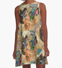 Beneath the Surface A-Line Dress