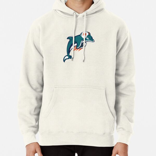 Dolphins-Miami Logo Pullover Hoodie