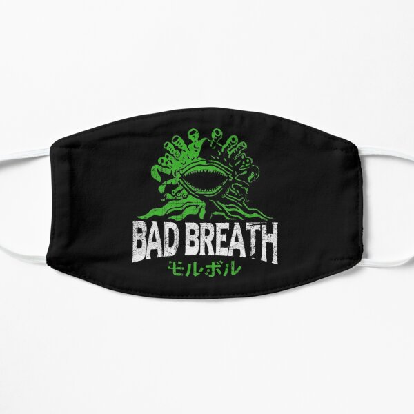 Bad Breath Flat Mask