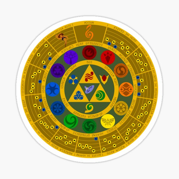 Wheel of the Hero of Time Sticker