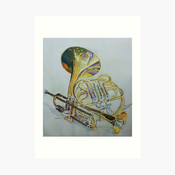 Classic Brass Art Print