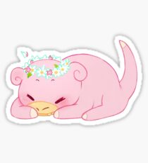 Slowpoke PokemonSticker Sticker