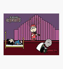 Abominable Dr. Peanuts Photographic Print