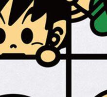 BAPE x Dragon Ball: Goku, Baby Milo, Krillin, Puar, and Oolong Sticker