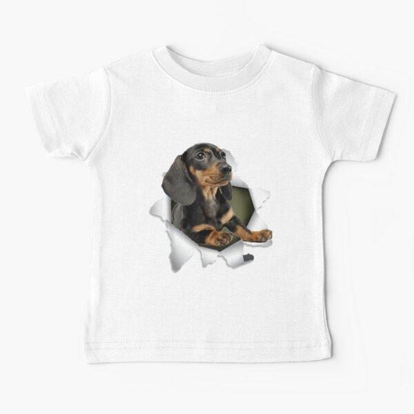Dog Lover - Funny Dachshund Baby T-Shirt