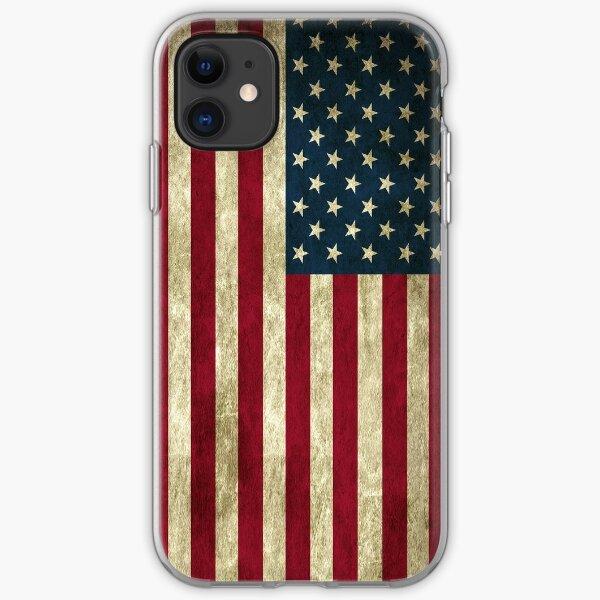 American flag case iPhone Soft Case