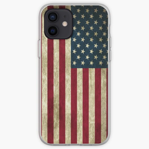American flag case iPhone Soft Case