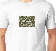 BAPE x Supreme: Camo Box Logo Unisex T-Shirt