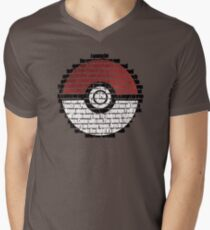 Pokeball Song typography T-Shirt