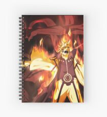 Father and Son Hokage Spiral Notebook