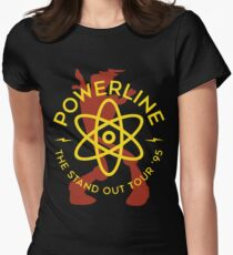 Powerline Women's Fitted T-Shirt