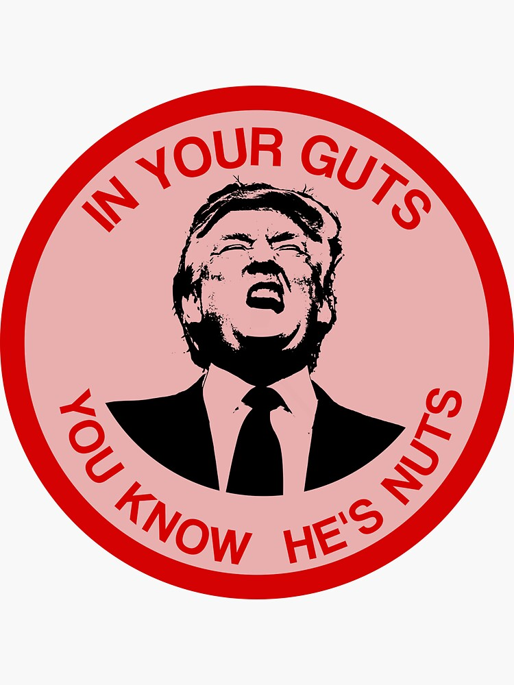 In Your Guts, You Know He's Nuts (Trump Mocking) by rwterry