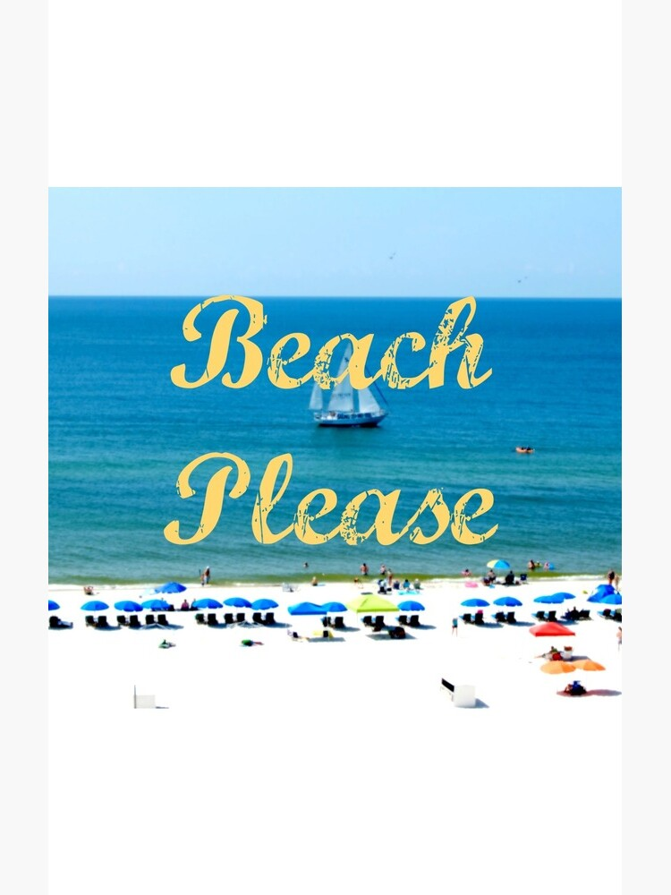 Beach Please Ocean View by juliak18