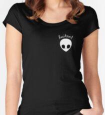 Gerard Way Hesitant Alien Women's Fitted Scoop T-Shirt