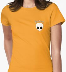 Gerard Way Hesitant Alien Womens Fitted T-Shirt