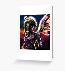 metal gear angel Greeting Card
