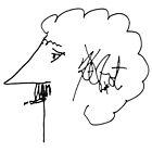 Kurt Vonnegut (outline) by Habañero  Collective