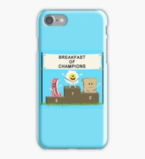 Breakfast of Champions iPhone Case/Skin