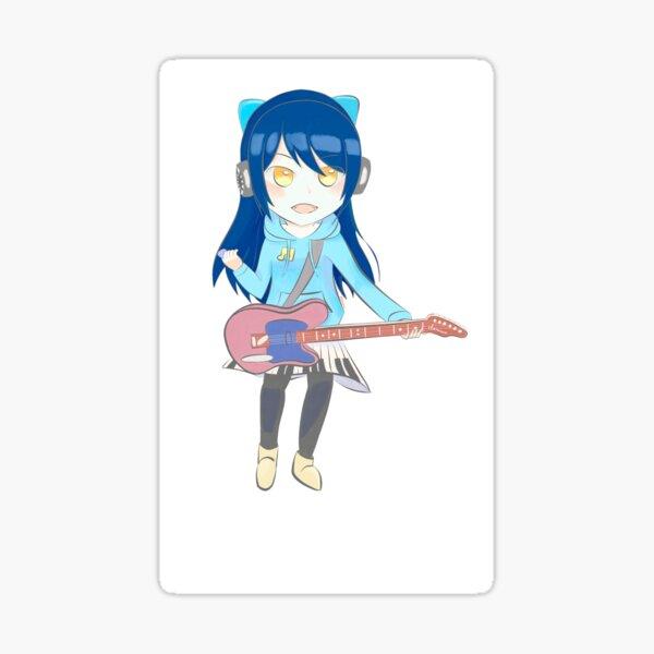 Guitar Annie Sticker