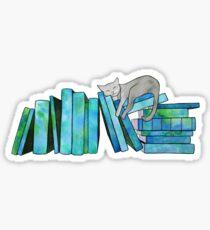 Pegatina Literary Naps Blue