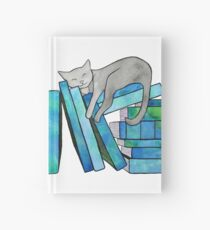 Literary Naps Blue Hardcover Journal