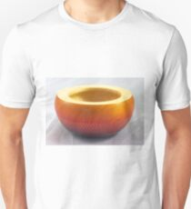 Small coloured and textured wooden bowl, Perth, WA T-Shirt