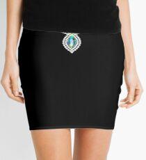 Diamonds necklace Mini Skirt