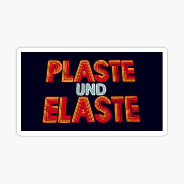 Plaste + Elaste Sticker