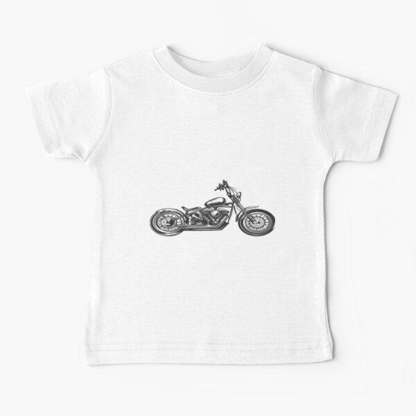 HARLEY Davidson Road King | Cadeau parfait T-shirt bébé
