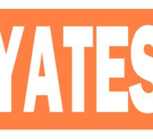 Abby Yates Name Tag Sticker