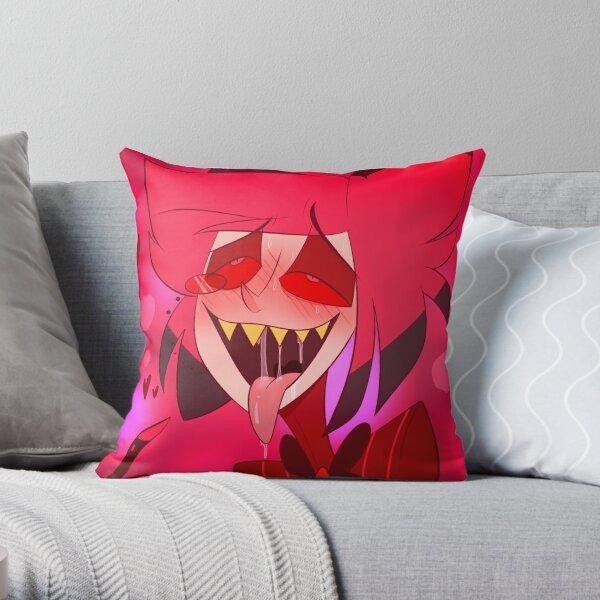 Cursed Alastor Throw Pillow