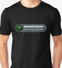 Achievement Unlocked: Power Level Over 9000 Unisex T-Shirt
