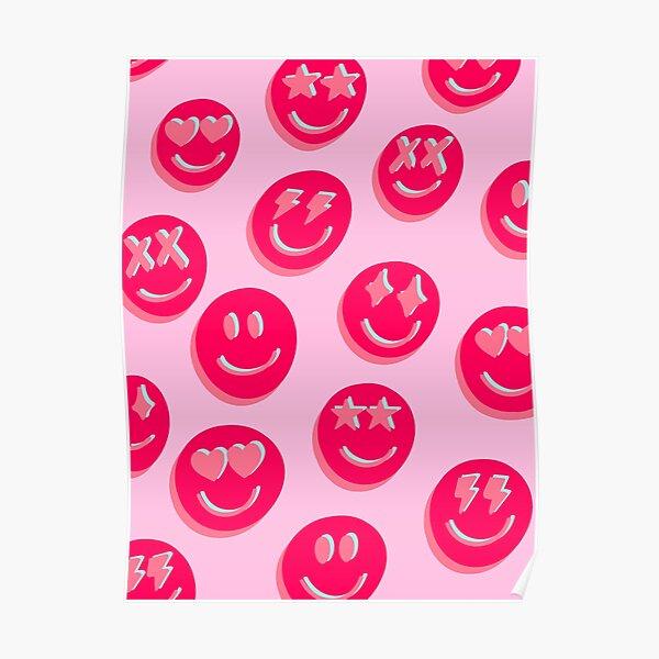 PINK SMILES Poster