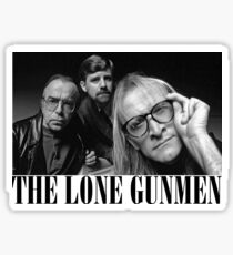 The Lone Gunmen (X-Files) Grunge Style Shirt Sticker