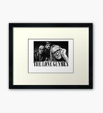 The Lone Gunmen (X-Files) Grunge Style Shirt Framed Print
