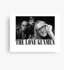 The Lone Gunmen (X-Files) Grunge Style Shirt Canvas Print
