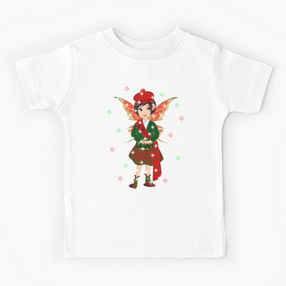 Iaada The International Fairy– Scottish™ Kids T-Shirt