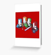 Castle crashers Greeting Card